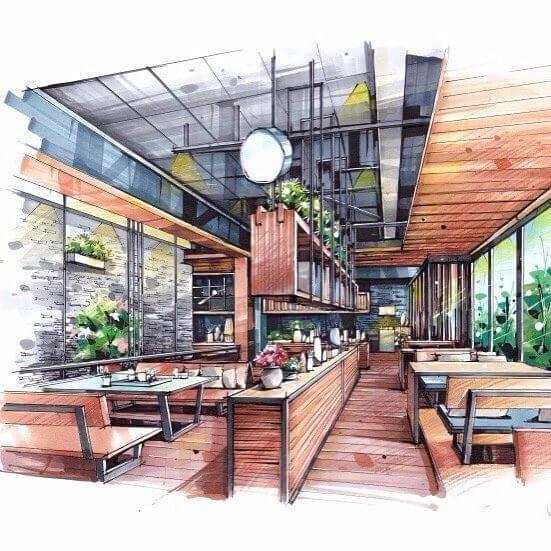 Architecte Intérieur Restaurant Design