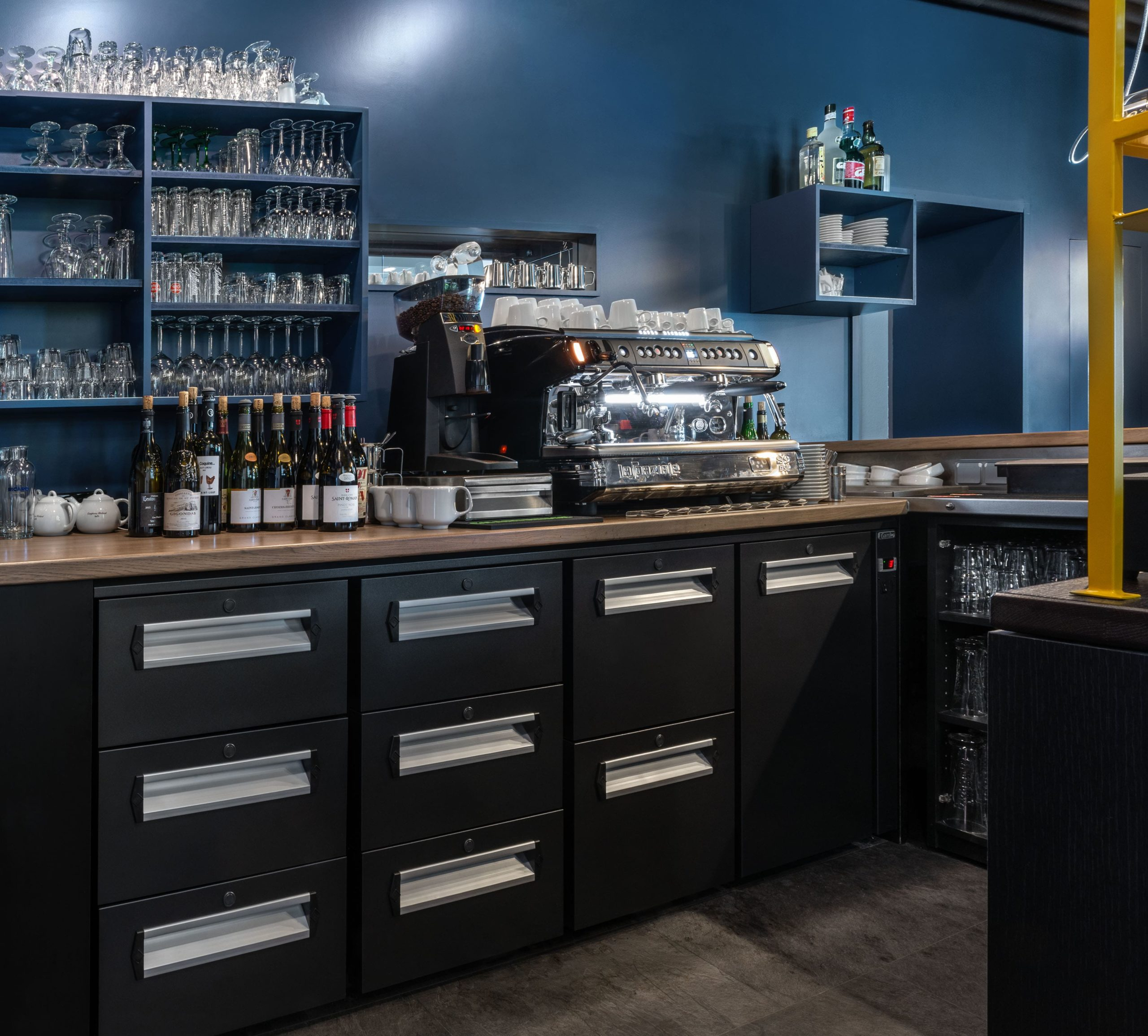 agencement bar professionnel