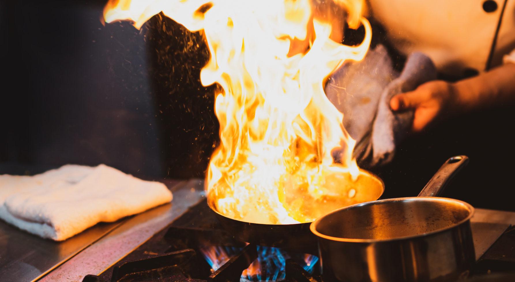 La Securite Incendie En Cuisine Pro Eskis